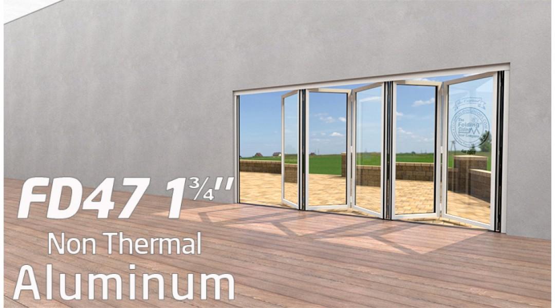 5 Panel Aluminum Bi-Foldi...